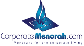 Corporate Menorah